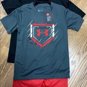 Under Armour Matching Sets - NWT Boys Under Armour set